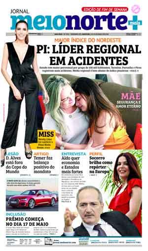 Jornal Meio Norte do dia 12-05-2018