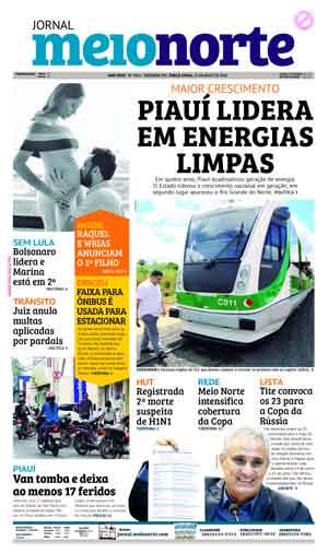 Jornal Meio Norte do dia 15-05-2018
