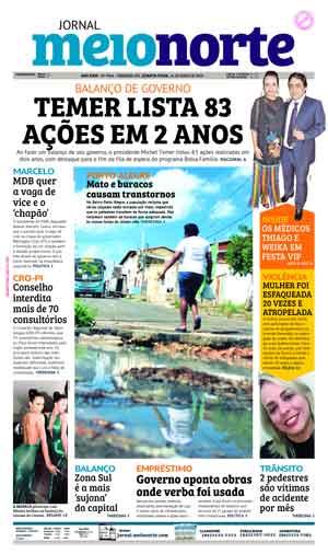 Jornal Meio Norte do dia 16-05-2018
