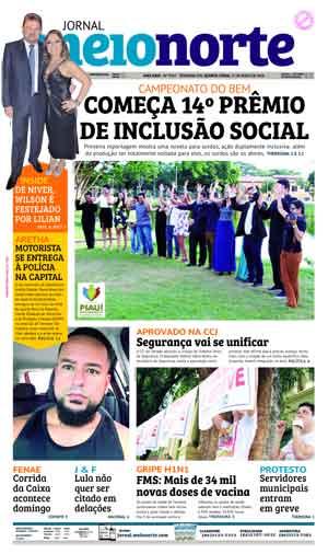 Jornal Meio Norte do dia 17-05-2018