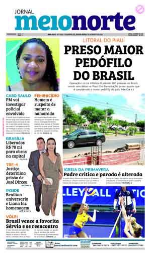 Jornal Meio Norte do dia 18-05-2018