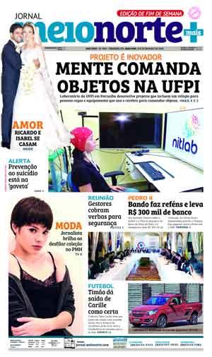 Jornal Meio Norte do dia 19-05-2018