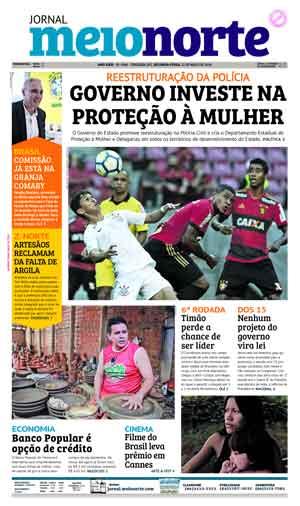 Jornal Meio Norte do dia 21-05-2018