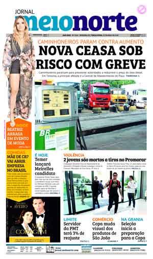 Jornal Meio Norte do dia 22-05-2018