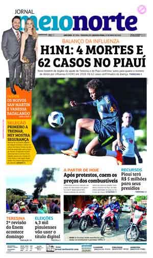 Jornal Meio Norte do dia 23-05-2018