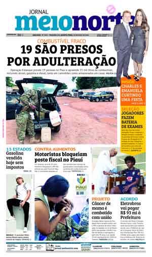 Jornal Meio Norte do dia 24-05-2018