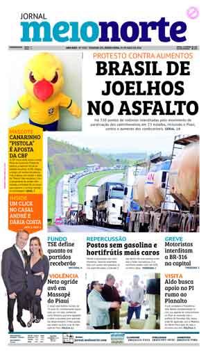 Jornal Meio Norte do dia 25-05-2018