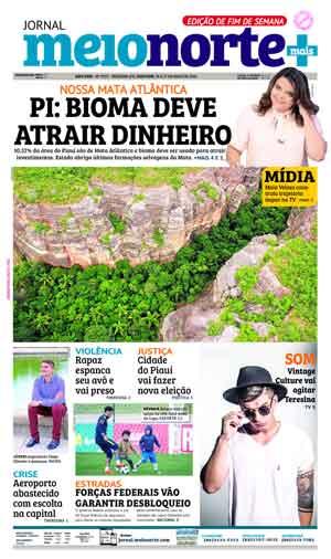 Jornal Meio Norte do dia 26-05-2018