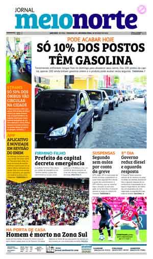 Jornal Meio Norte do dia 28-05-2018