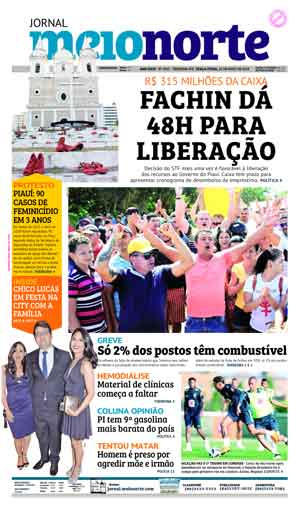 Jornal Meio Norte do dia 29-05-2018