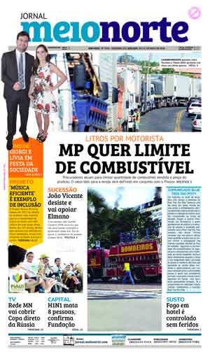 Jornal Meio Norte do dia 30-05-2018