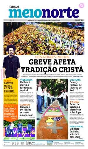 Jornal Meio Norte do dia 1-06-2018