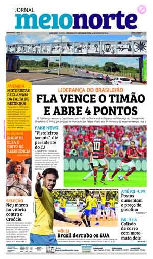 Jornal Meio Norte do dia 4-06-2018