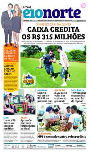 Jornal Meio Norte do dia 7-06-2018