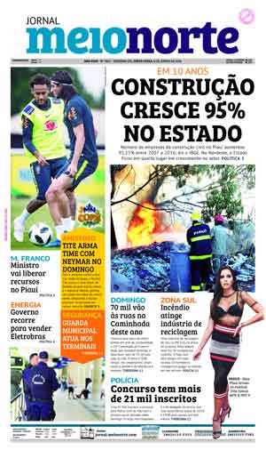 Jornal Meio Norte do dia 8-06-2018