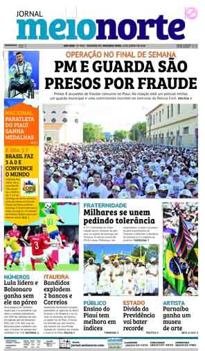 Jornal Meio Norte do dia 11-06-2018