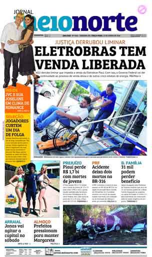 Jornal Meio Norte do dia 12-06-2018