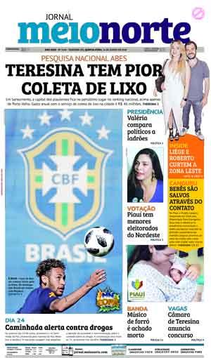 Jornal Meio Norte do dia 14-06-2018