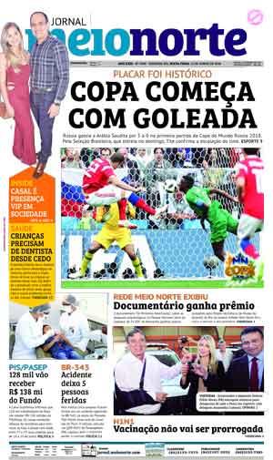 Jornal Meio Norte do dia 15-06-2018