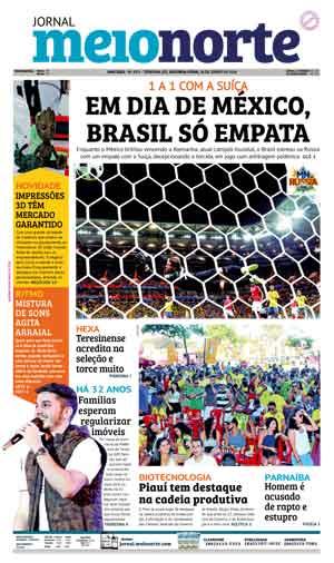 Jornal Meio Norte do dia 18-06-2018