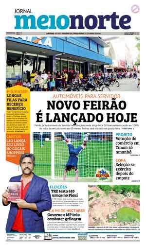 Jornal Meio Norte do dia 19-06-2018
