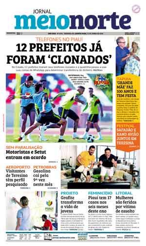 Jornal Meio Norte do dia 21-06-2018