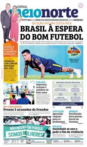 Jornal Meio Norte do dia 22-06-2018
