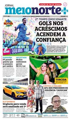 Jornal Meio Norte do dia 23-06-2018