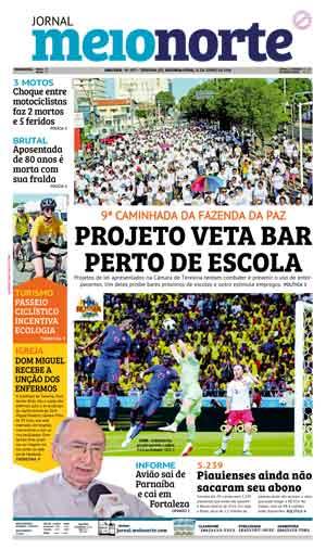 Jornal Meio Norte do dia 25-06-2018