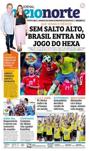 Jornal Meio Norte do dia 28-06-2018