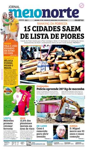 Jornal Meio Norte do dia 29-06-2018