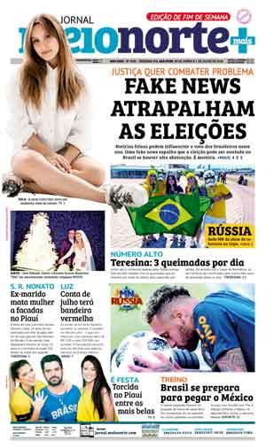 Jornal Meio Norte do dia 30-06-2018