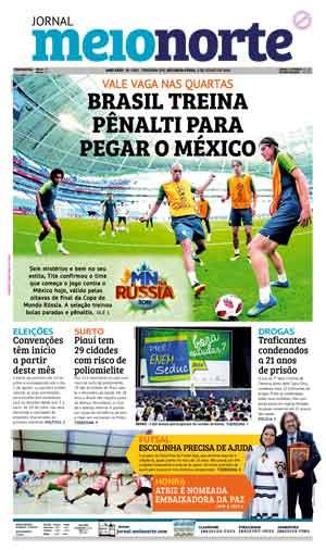 Jornal Meio Norte do dia 2-07-2018