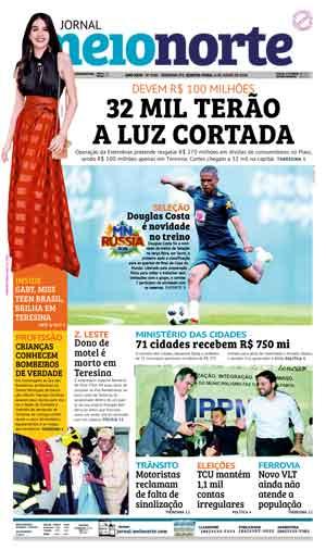 Jornal Meio Norte do dia 4-07-2018