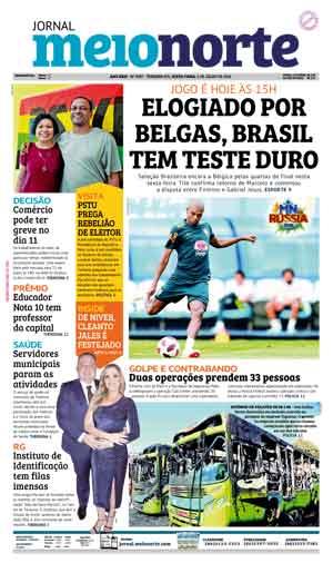 Jornal Meio Norte do dia 6-07-2018