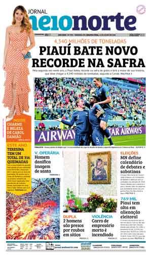 Jornal Meio Norte do dia 11-07-2018