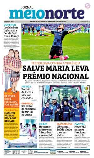 Jornal Meio Norte do dia 12-07-2018