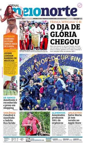 Jornal Meio Norte do dia 16-07-2018