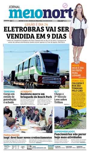 Jornal Meio Norte do dia 17-07-2018