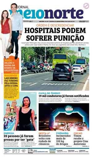Jornal Meio Norte do dia 18-07-2018