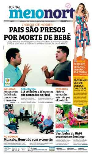 Jornal Meio Norte do dia 19-07-2018