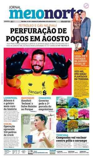 Jornal Meio Norte do dia 20-07-2018