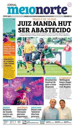 Jornal Meio Norte do dia 23-07-2018