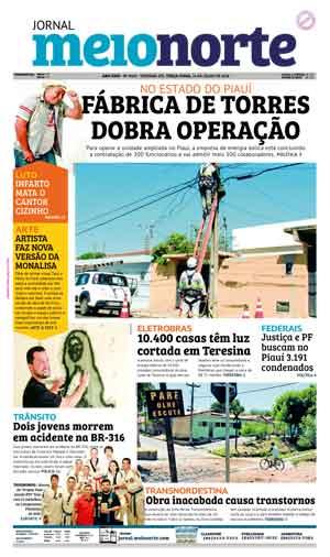 Jornal Meio Norte do dia 24-07-2018