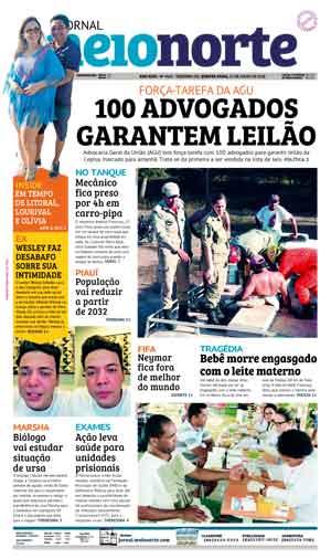 Jornal Meio Norte do dia 25-07-2018