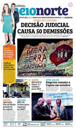 Jornal Meio Norte do dia 27-07-2018