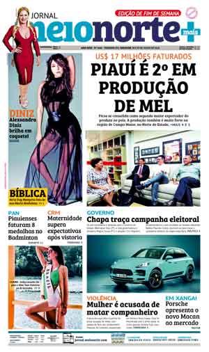 Jornal Meio Norte do dia 28-07-2018