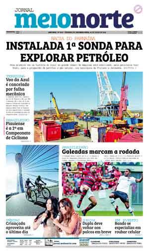 Jornal Meio Norte do dia 30-07-2018