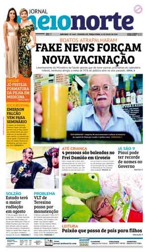 Jornal Meio Norte do dia 31-07-2018