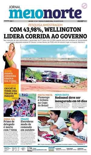 Jornal Meio Norte do dia 1-08-2018